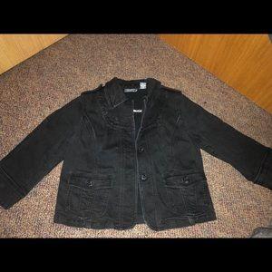 Jackets & Blazers - Black jean jacket